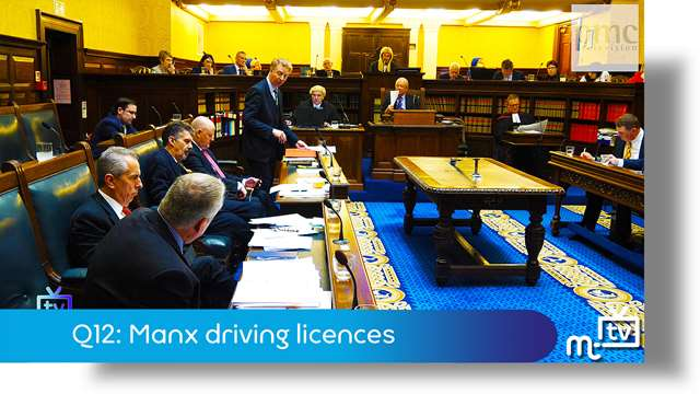 Preview of - Q12: Manx driving licences