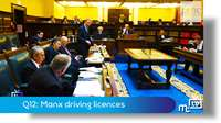 Q12: Manx driving licences