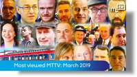 Most viewed MTTV: March 2019