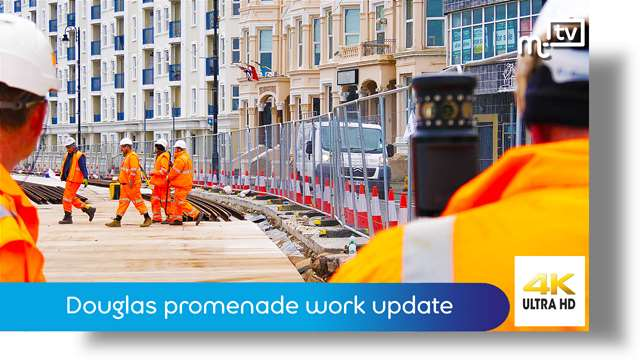 Preview of - Douglas promenade work update