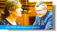 Q10: GDPR education compliance
