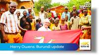 Harry Owens: Burundi update