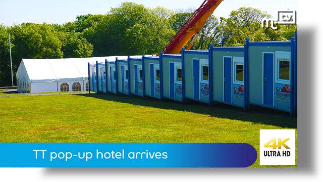Preview of - TT pop-up hotel arrives