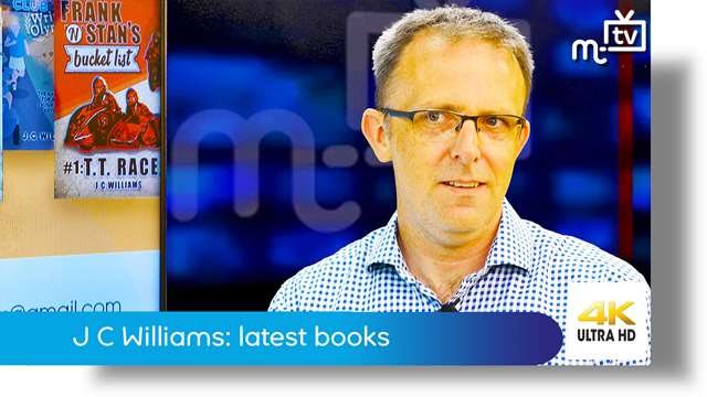 Preview of - J C Williams: latest Isle of Man based books