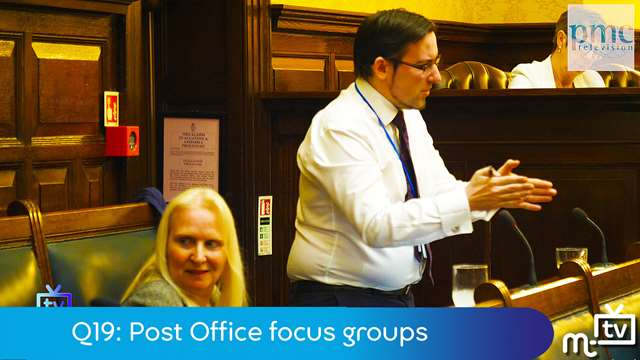 Preview of - Q19: Post Office focus groups