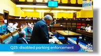 Q25: disabled parking enforcement