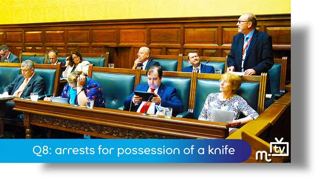 Preview of - Q8: arrests for possession of a knife