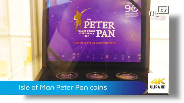 Preview of - Isle of Man Peter Pan coins