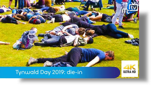 Preview of - Tynwald Day 2019: climate change die-in