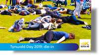 Tynwald Day 2019: climate change die-in