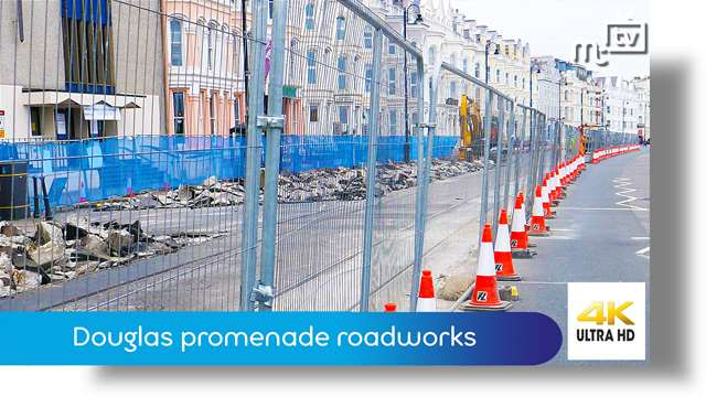 Preview of - Douglas promenade roadworks: Chris Robertshaw MHK