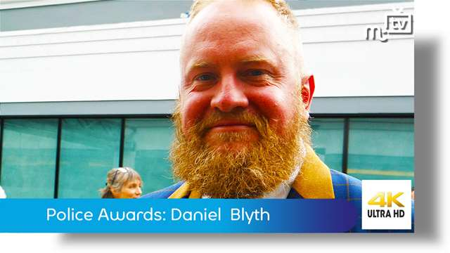 Preview of - Chief Constable Police Awards: Daniel Blyth