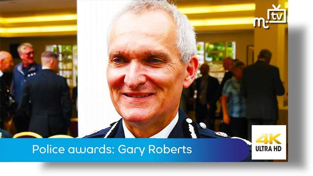 Preview of - Police awards: Chief Constable Gary Roberts