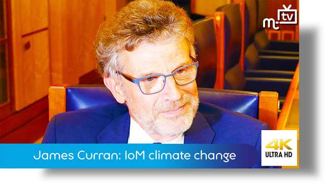 Preview of - Professor James Curran: Isle of Man climate change transformation