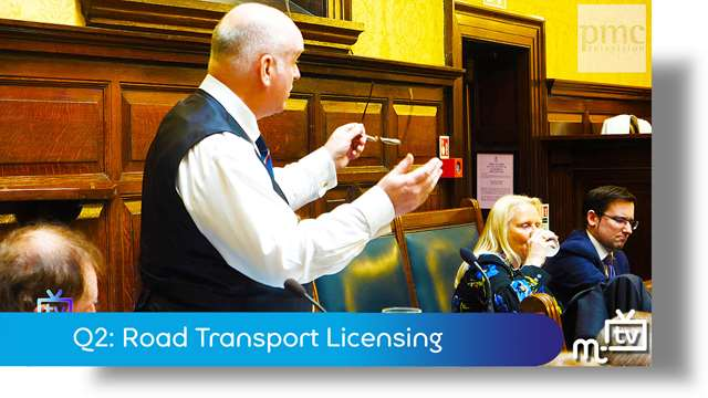 Preview of - Q2: Road Transport Licensing