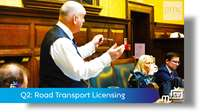 Q2: Road Transport Licensing
