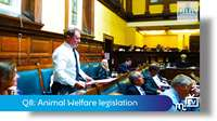 Q8: Animal Welfare legislation