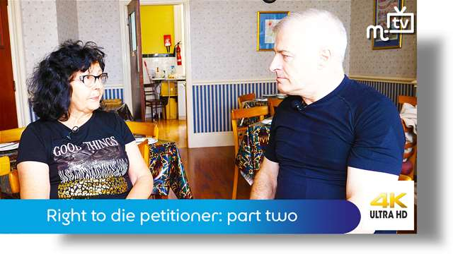 Preview of - Right to die petitioner: part two