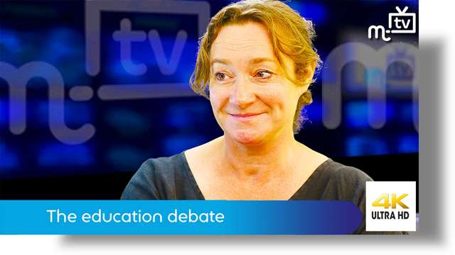 Preview of - Daphne Caine MHK: the education debate