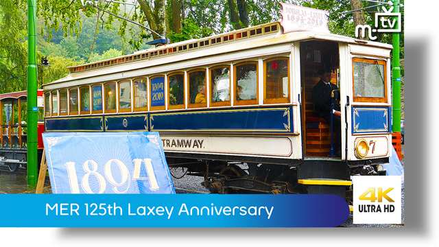 Preview of - Manx Electric Railway 125th Laxey Anniversary
