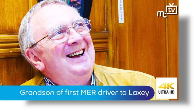 Preview of - Grandson of first MER driver from Douglas to Laxey