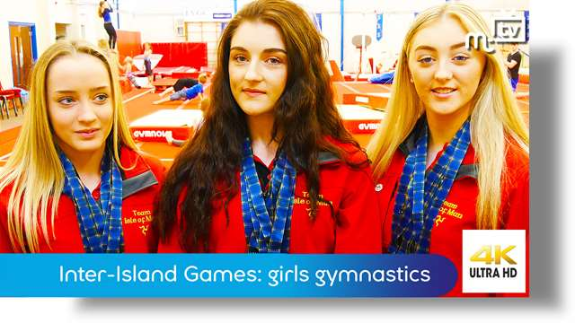 Preview of - Inter-Island Games: girls gymnastics