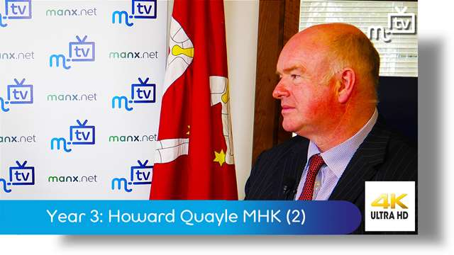 Preview of - Year Three: Howard Quayle MHK part two