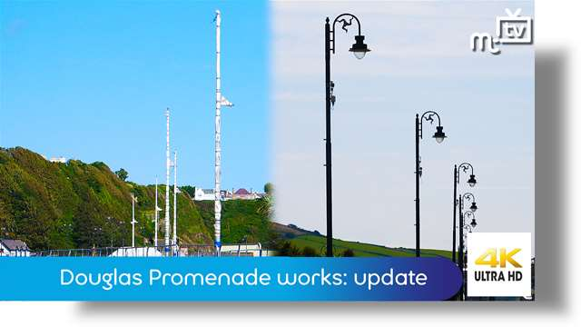 Preview of - Douglas Promenade works: update