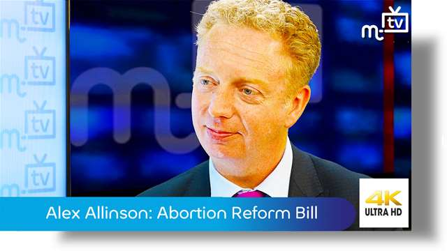 Preview of - Dr Alex Allinson MHK: The Abortion Reform Bill