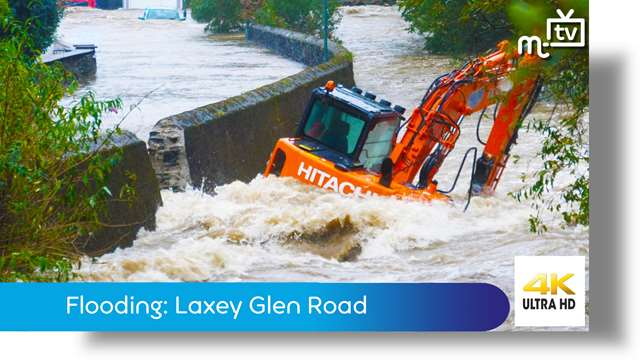 Preview of - Flooding: Laxey Glen Road