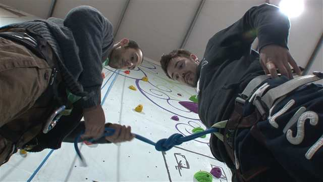 Preview of - New indoor climbing centre opens