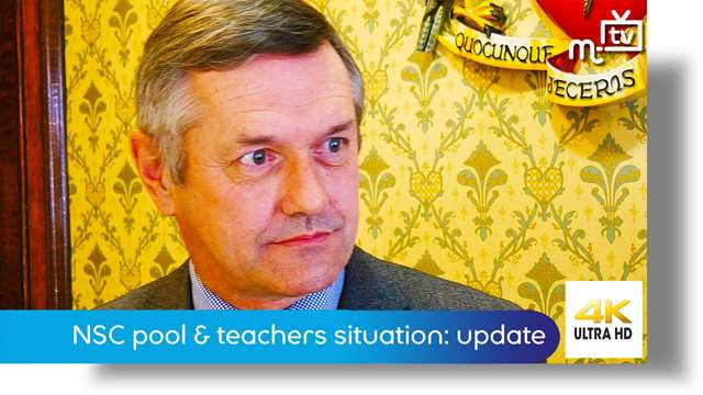 Preview of - National Sports Centre pool & teachers situation: update
