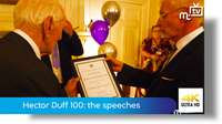 Hector Duff 100: the speeches