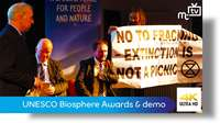 UNESCO Biosphere Isle of Man Awards: Minister Boot