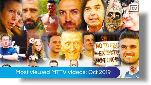 Preview of - Most viewed MTTV videos on manx.net in October 2019