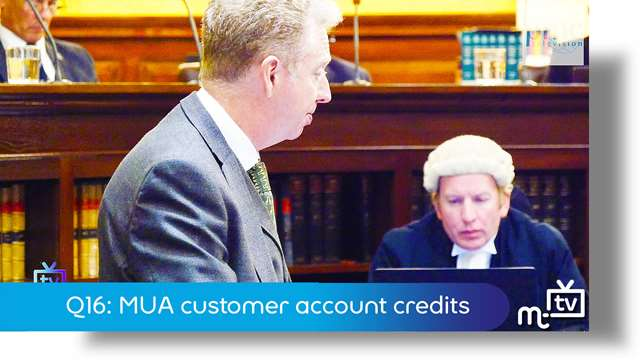 Preview of - Q16: MUA customer account credits