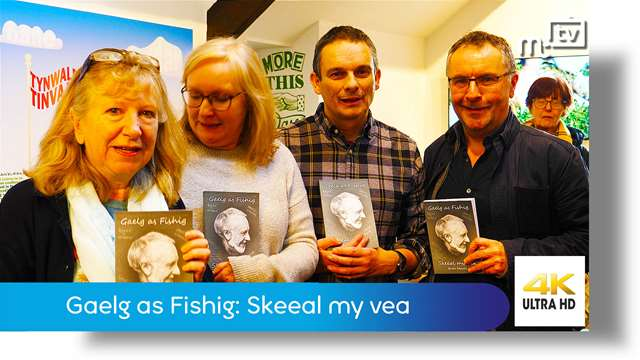Preview of - Dr Brian Stowell: Gaelg as Fishig: Skeeal my vea