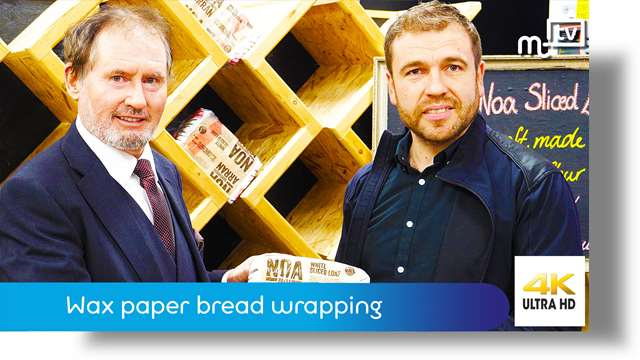 Preview of - Wax paper bread wrapping