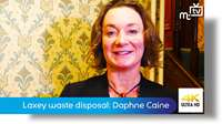 Laxey waste disposal: Daphne Caine