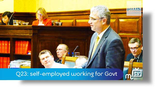 Preview of - Q23: self-employed working for Govt