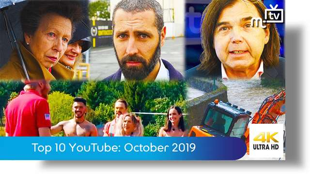 Preview of - Top ten YouTube: October 2019