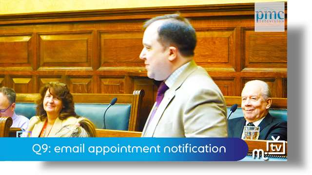 Preview of - Q9: email appointment notification