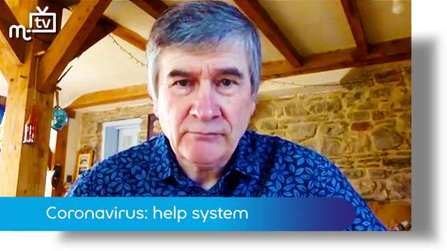 Preview of - Coronavirus: help system