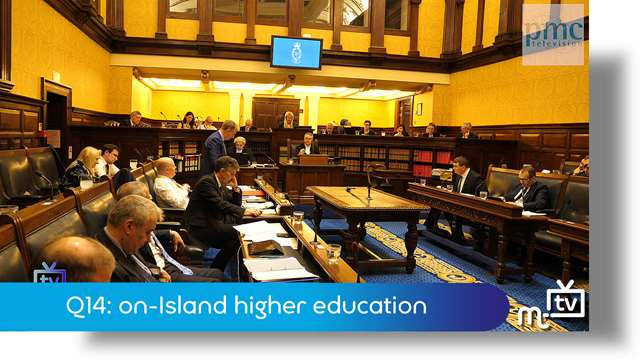 Preview of - Q14: on-Island higher education