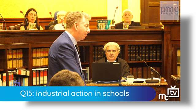 Preview of - Q15: industrial action in schools