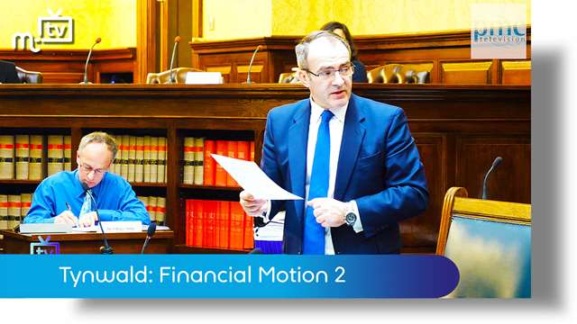 Preview of - Emergency Tynwald session: Financial Motion 2