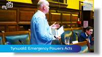 Emergency Tynwald session: Emergency Powers Act 1936