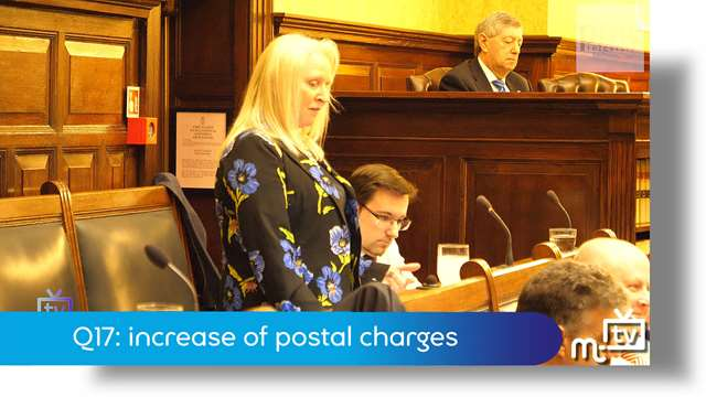 Preview of - Q17: increase of postal charges