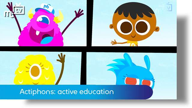 Preview of - Actiphons: active education for children