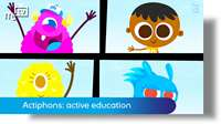 Actiphons: active education for children